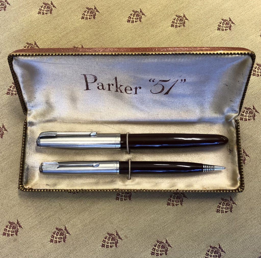 Boxed-Parker-51-Vacumatic-Pencil-c1947-SOLD