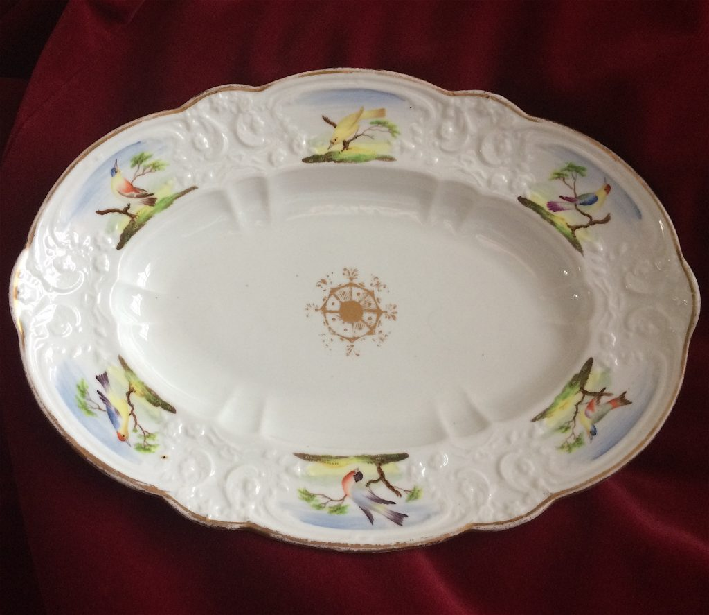 Swansea Oval William Pollard Decorated Dish C1816