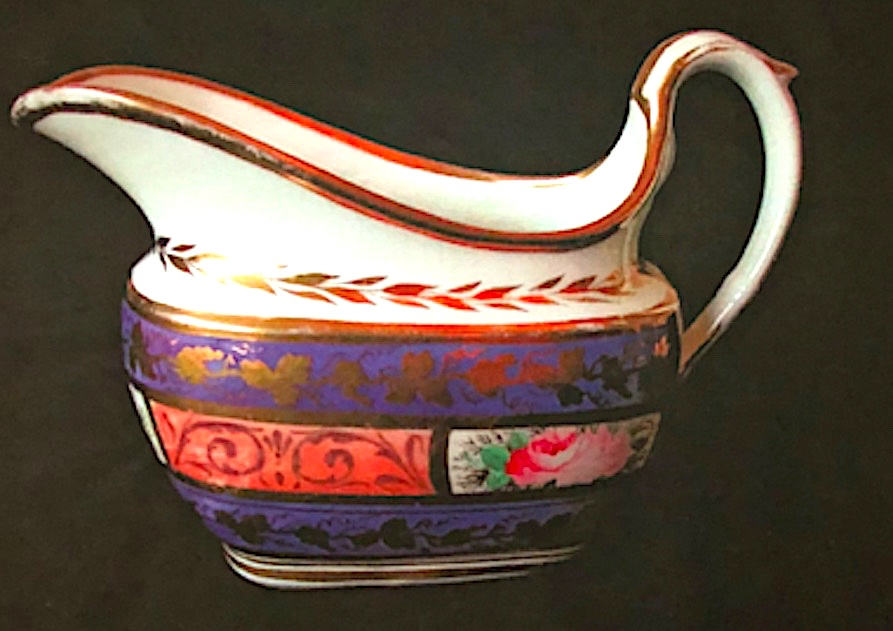 Swansea Porcelain Cream Jug c1816