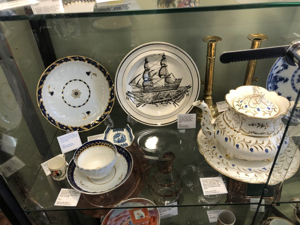 Antique Porcelain, Pottery, Copperware and Brass