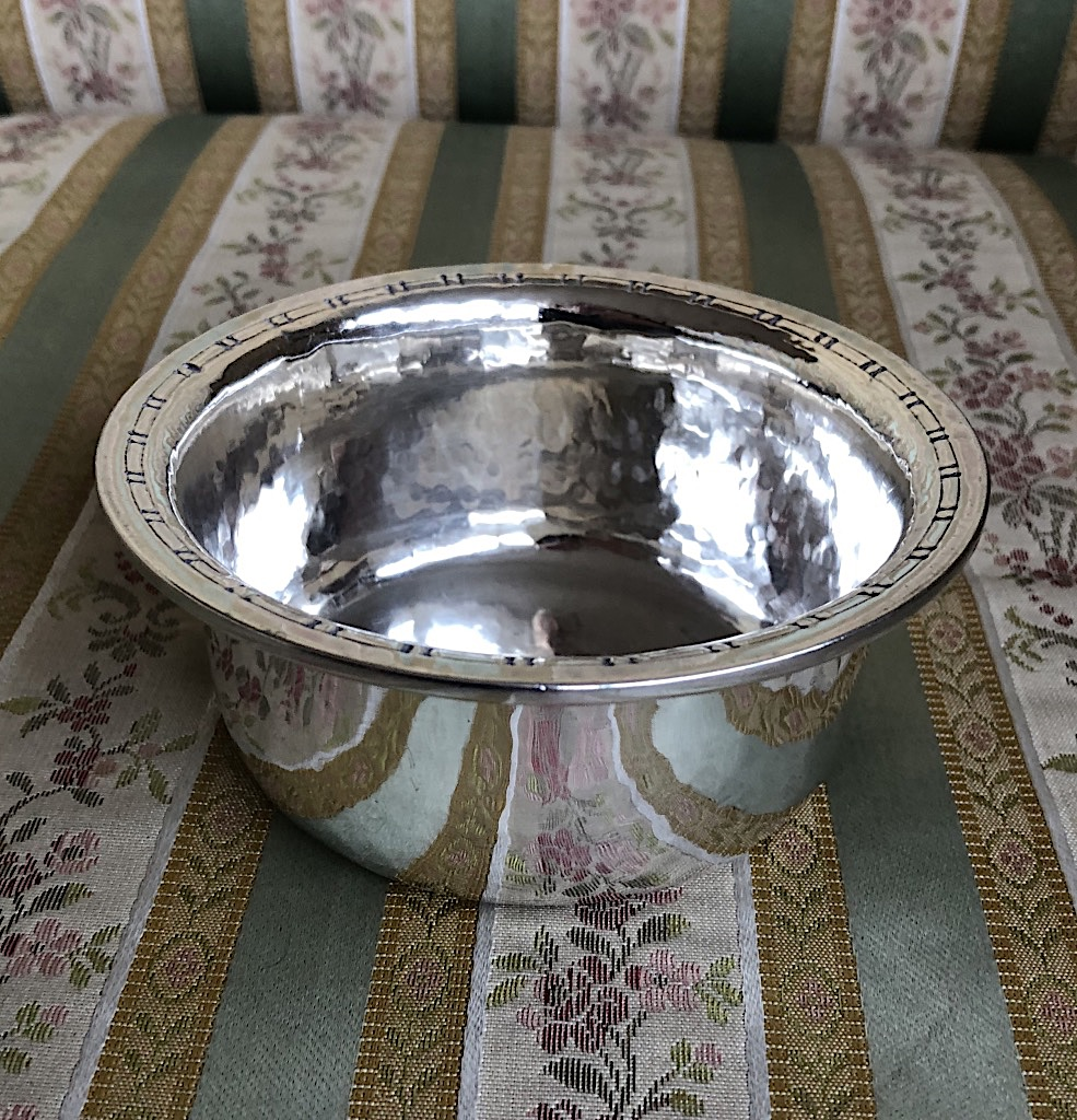 Liberty Arts and Crafts Silver Bowl 1902