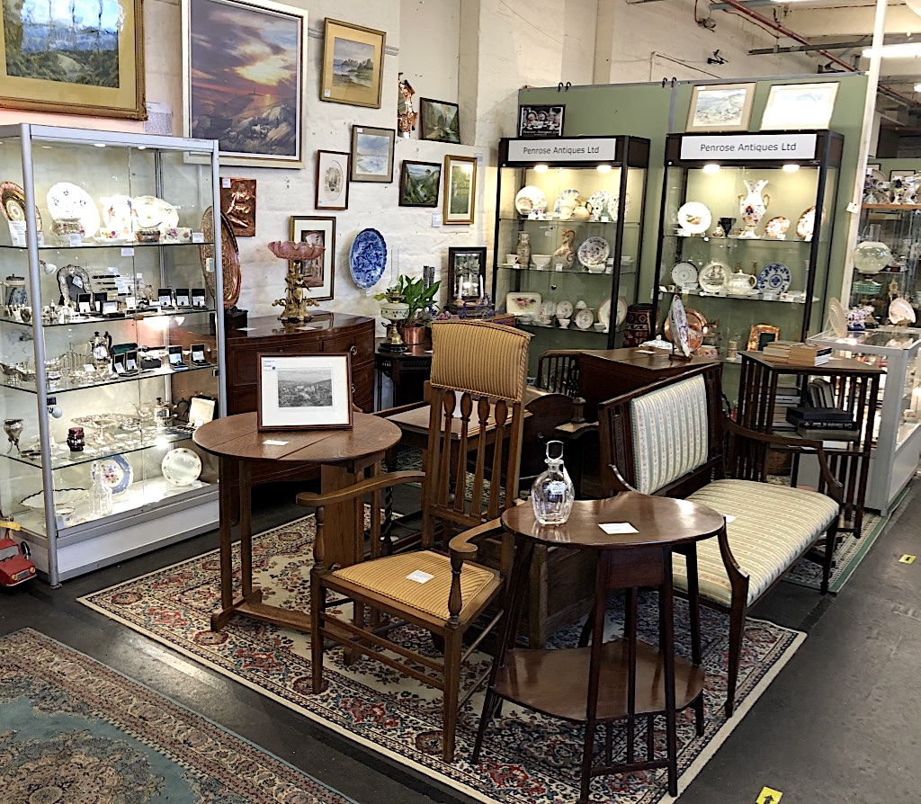 Restocked Unit Carlton Antiques Centre 6 Oct 20